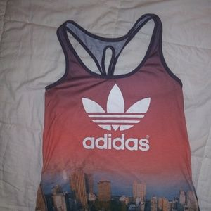 Adidas City scape tank top